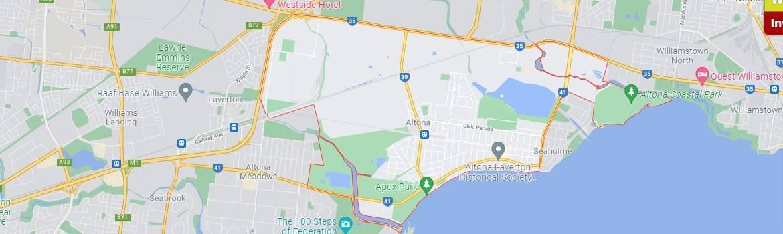 altona map area