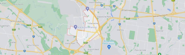 Tullamarine map area